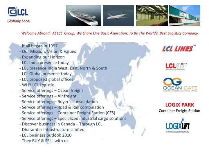 Globally Local