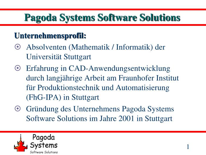pagoda systems software solutions n.