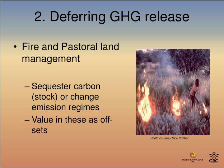 Fire and Pastoral land management