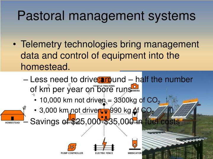 Telemetry technologies bring management data and control of equipment into the homestead.
