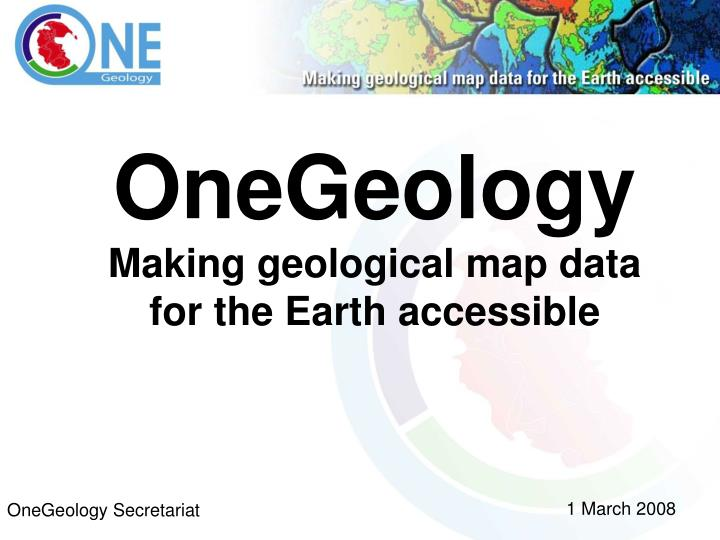 OneGeology