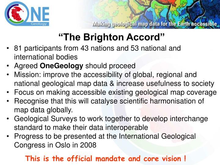 """""""The Brighton Accord"""""""