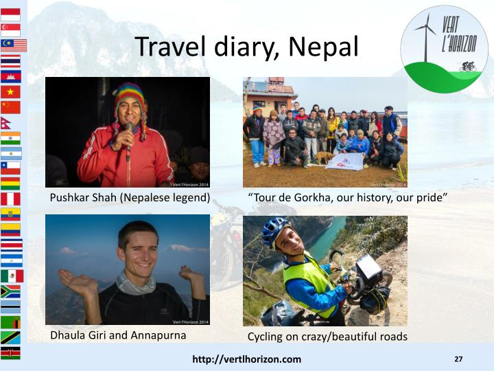 Travel diary, Nepal