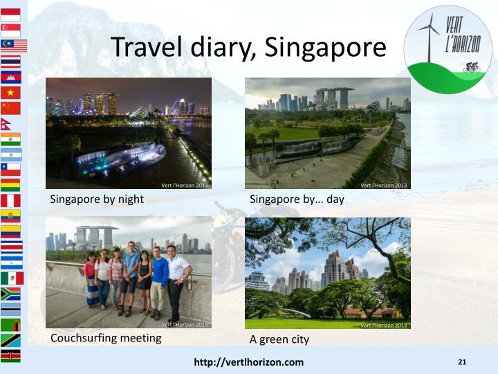Travel diary, Singapore