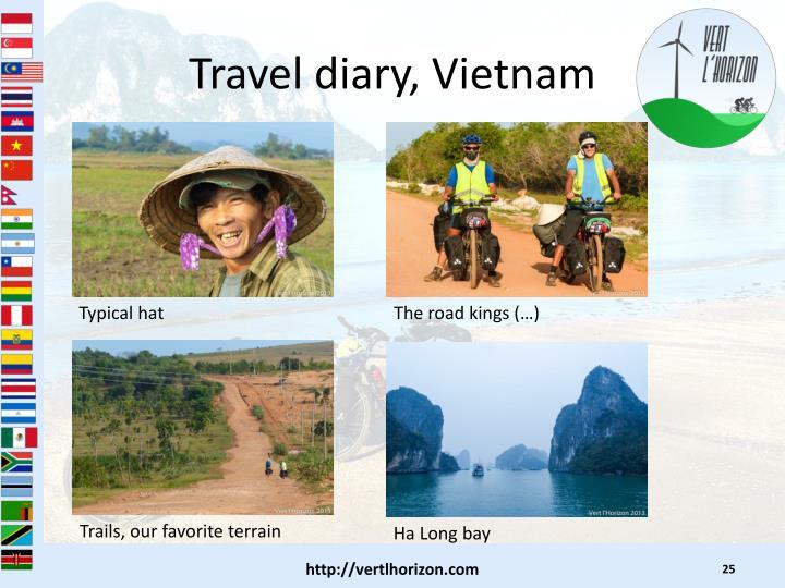 Travel diary, Vietnam