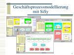 gesch ftsprozessmodellierung mit sisy15