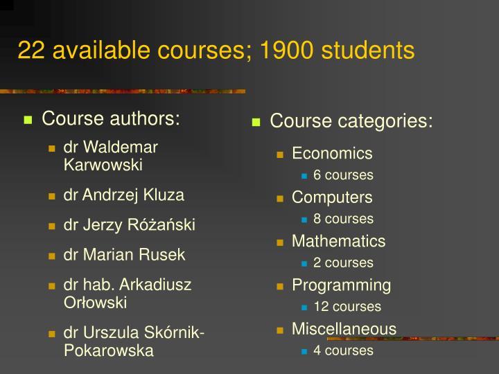 Course authors:
