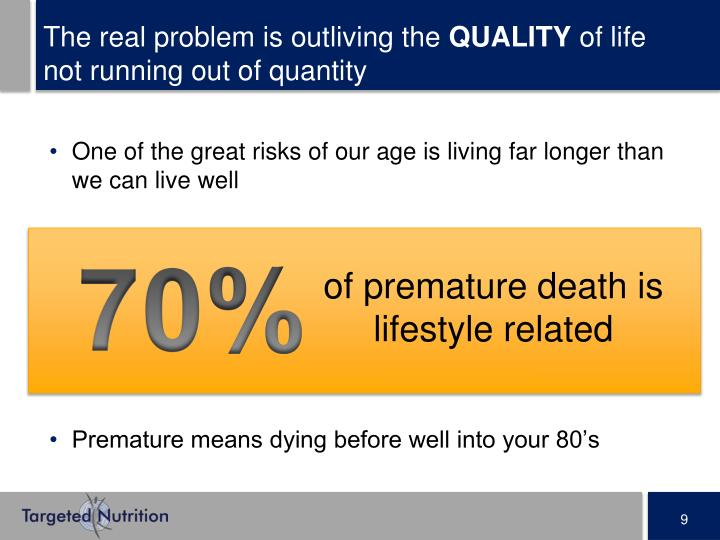 The real problem is outliving the