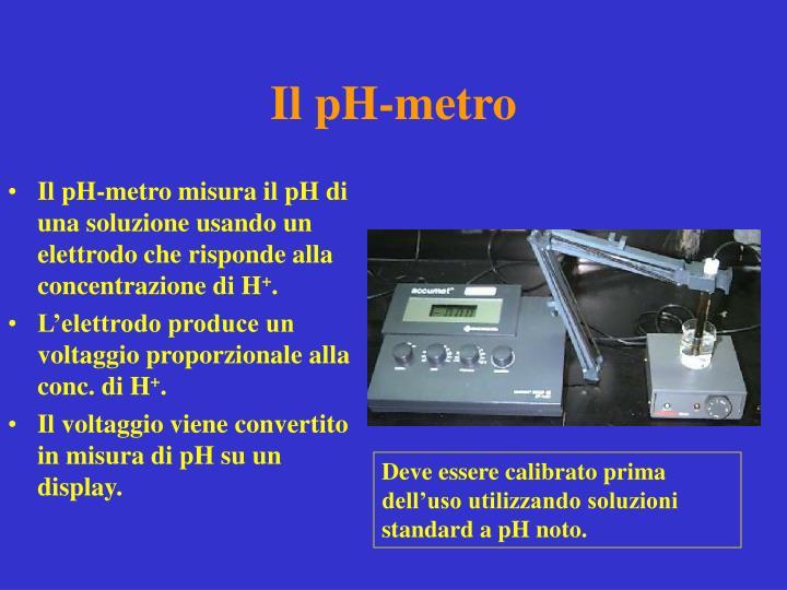 Il pH-metro