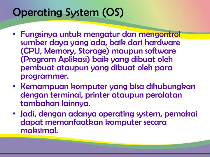Operating system os1