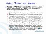 vision mission and values1