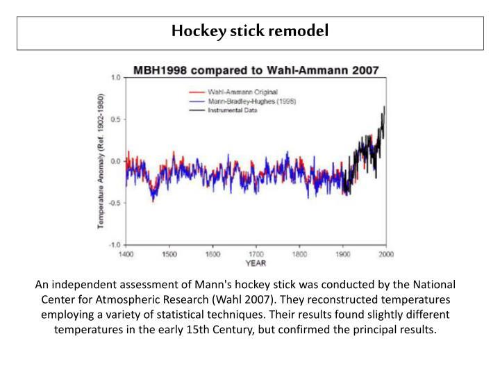 Hockey stick remodel