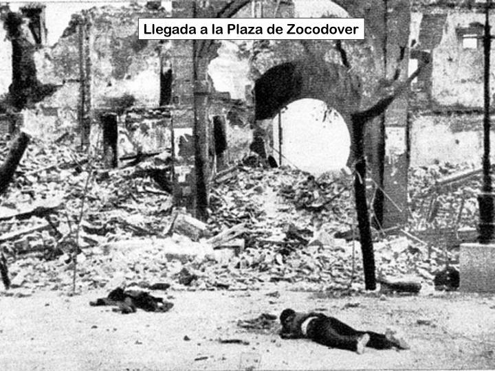 Llegada a la Plaza de Zocodover