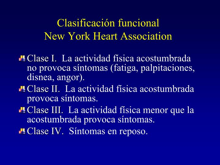 Clasificación funcional