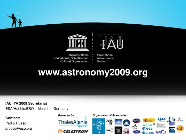 www.astronomy2009.org