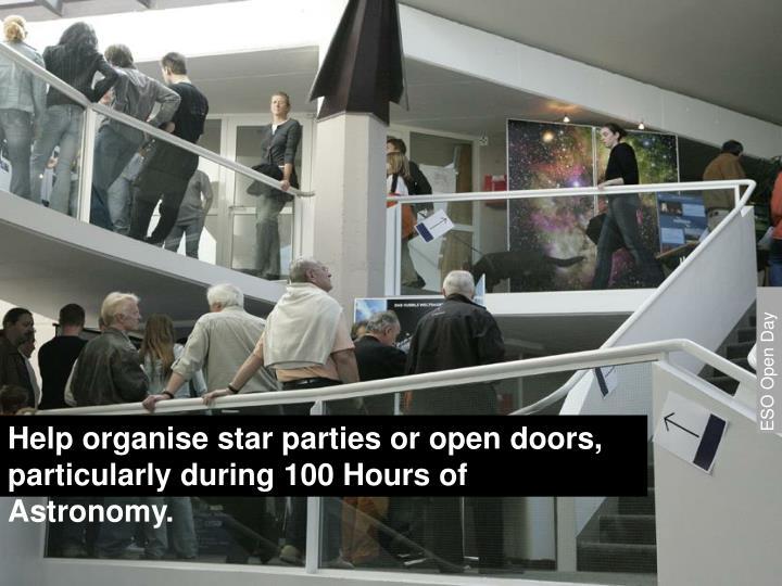ESO Open Day
