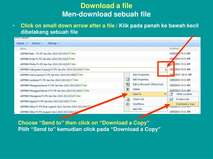 Download a file