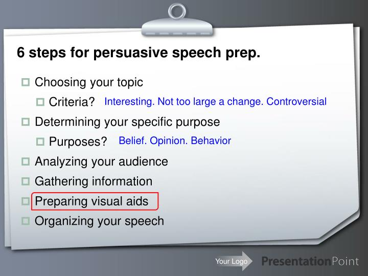 persuasive powerpoint presentation topics