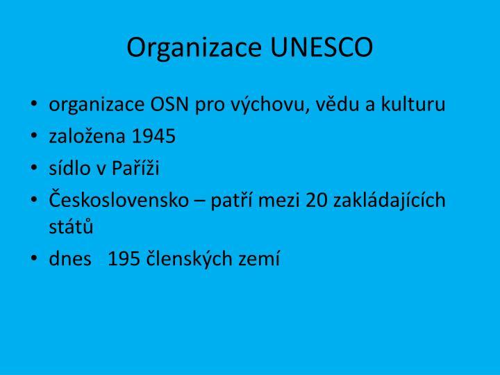 Organizace unesco