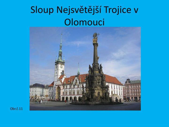 Sloup Nejsvětější Trojice v Olomouci