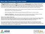 about adas technologies private limited