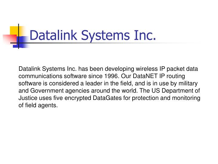 Datalink systems inc