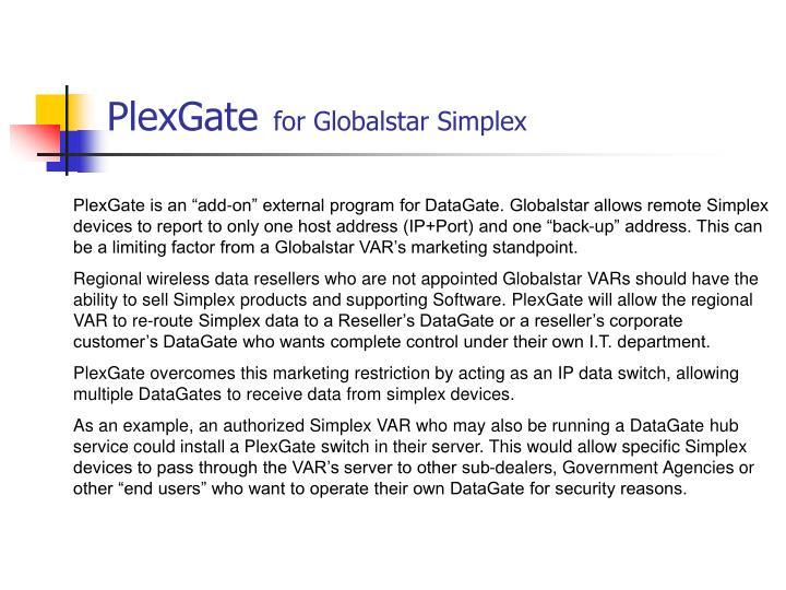 PlexGate