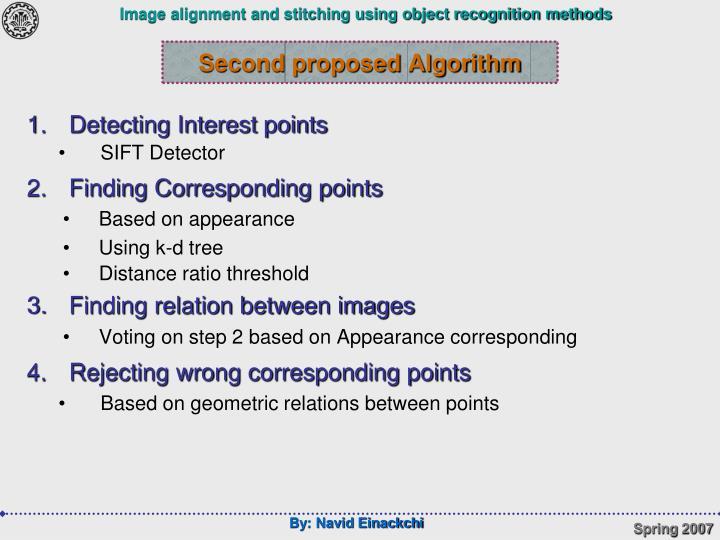 Second proposed Algorithm