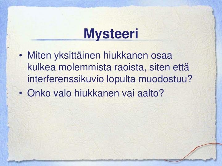 Mysteeri