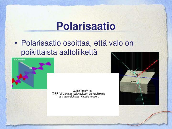 Polarisaatio
