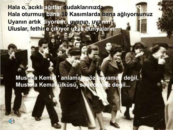 Mustafa Kemal ' anlamak göz boyamak değil,