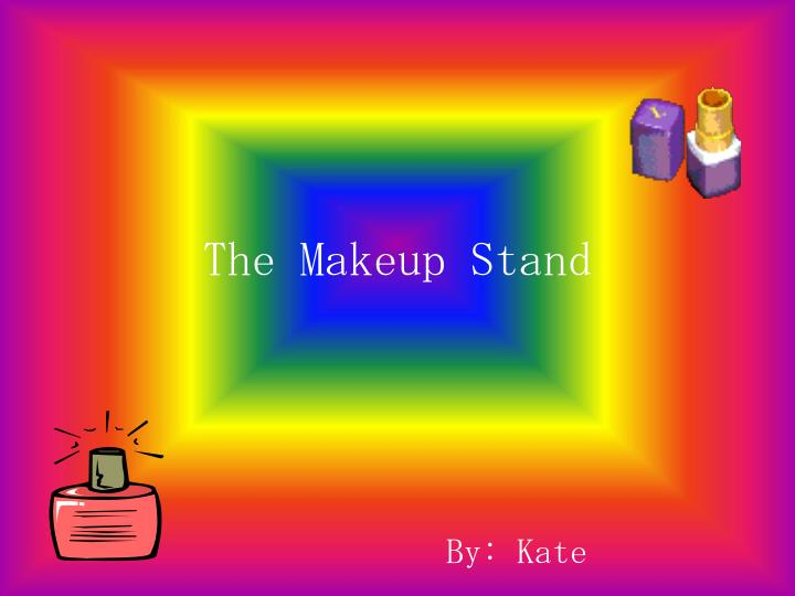 the makeup stand n.