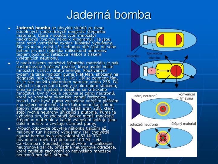 Jaderná bomba