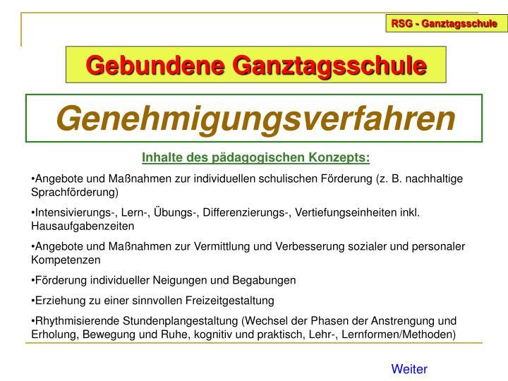 RSG - Ganztagsschule