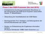 phase 2 des dqr prozesses bis juni 2010