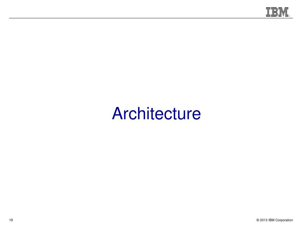 PPT - IBM Leadership in Search, Text Analysis and Classification