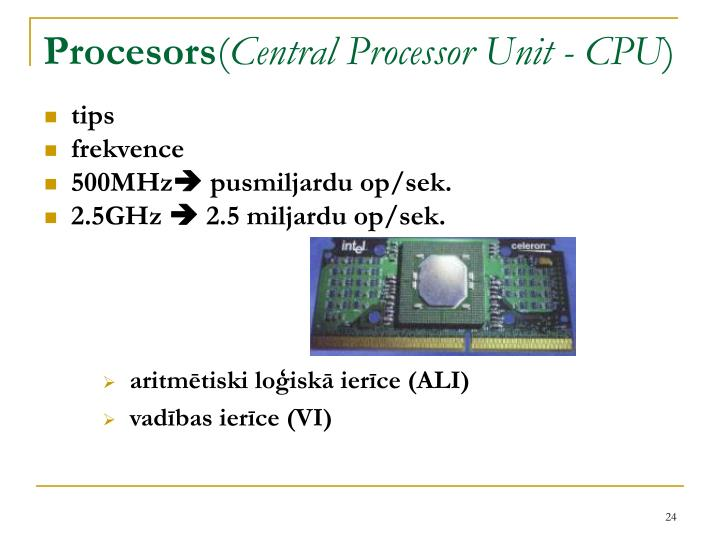 Procesors