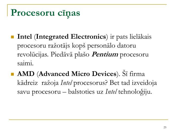 Procesoru cīņas