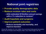 national joint registries1