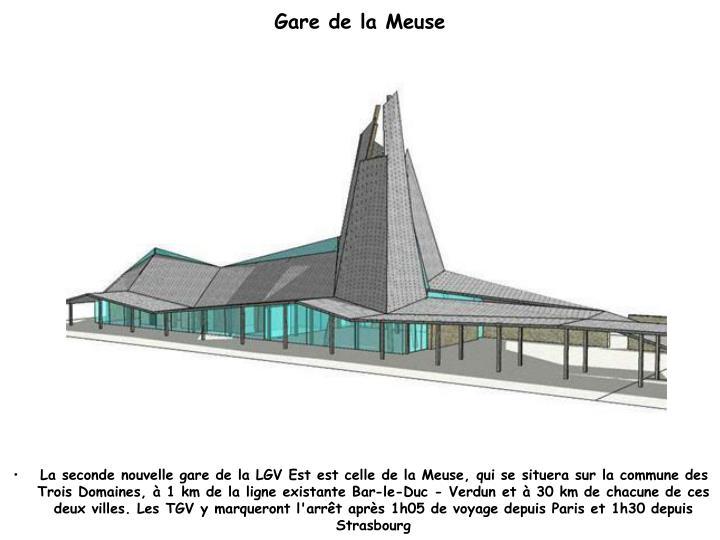 Gare de la Meuse