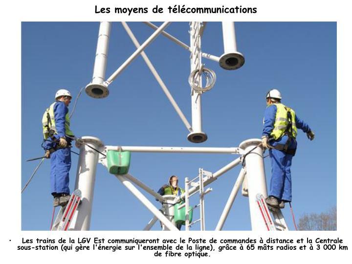 Les moyens de télécommunications