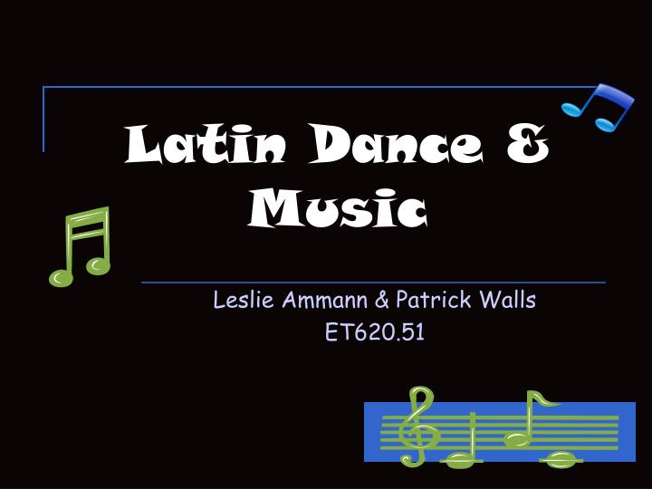 latin dance music n.