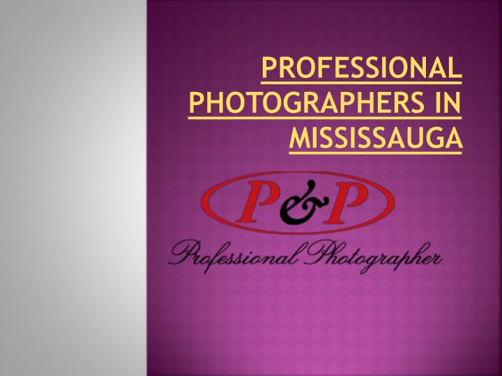 professional photographers in mississauga n.