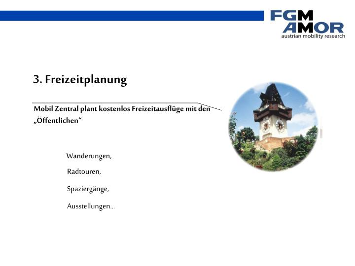 3. Freizeitplanung
