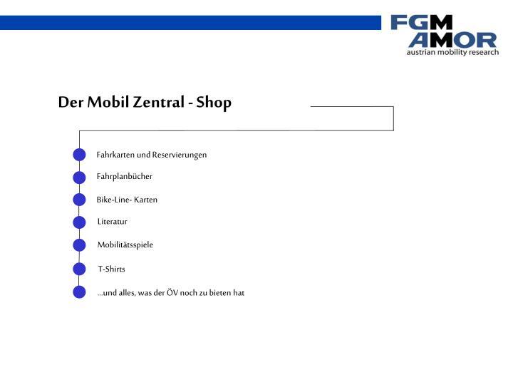 Der Mobil Zentral - Shop