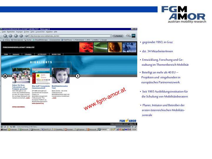 gegründet 1993, in Graz