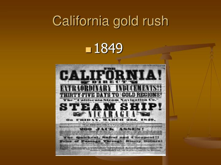 california gold rush n.