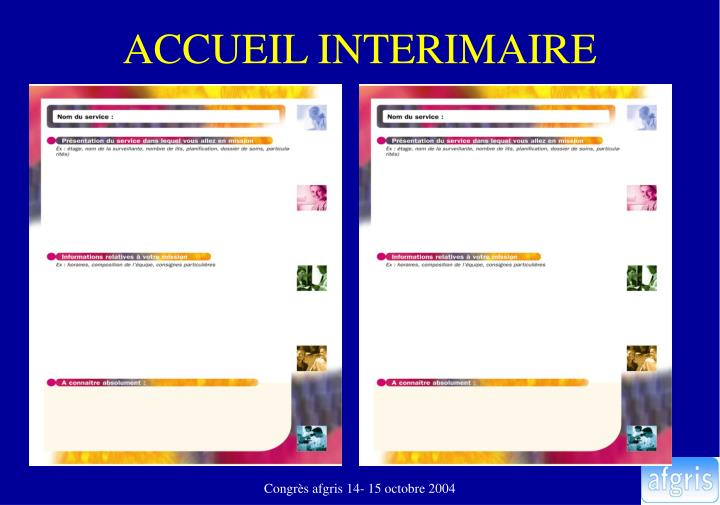 ACCUEIL INTERIMAIRE