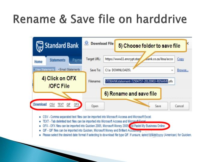 Rename & Save file on