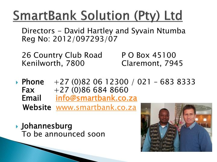 SmartBank Solution (Pty) Ltd
